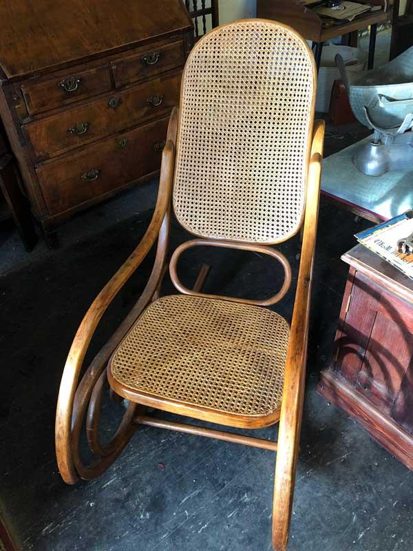 American rattan rocking/porch Chair